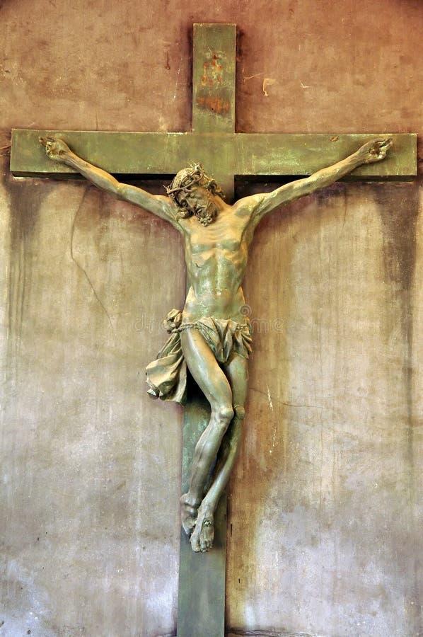 Kreuzigung stockbild