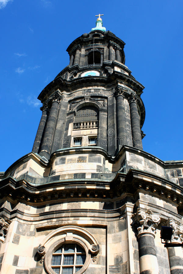 Download Kreuzkirche Or Church Of The Holy Cross In Dresden Germany Is Th Stock Photo - Image: 83713338