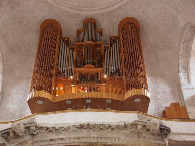 Kreuzkirche Dresden royaltyfri bild