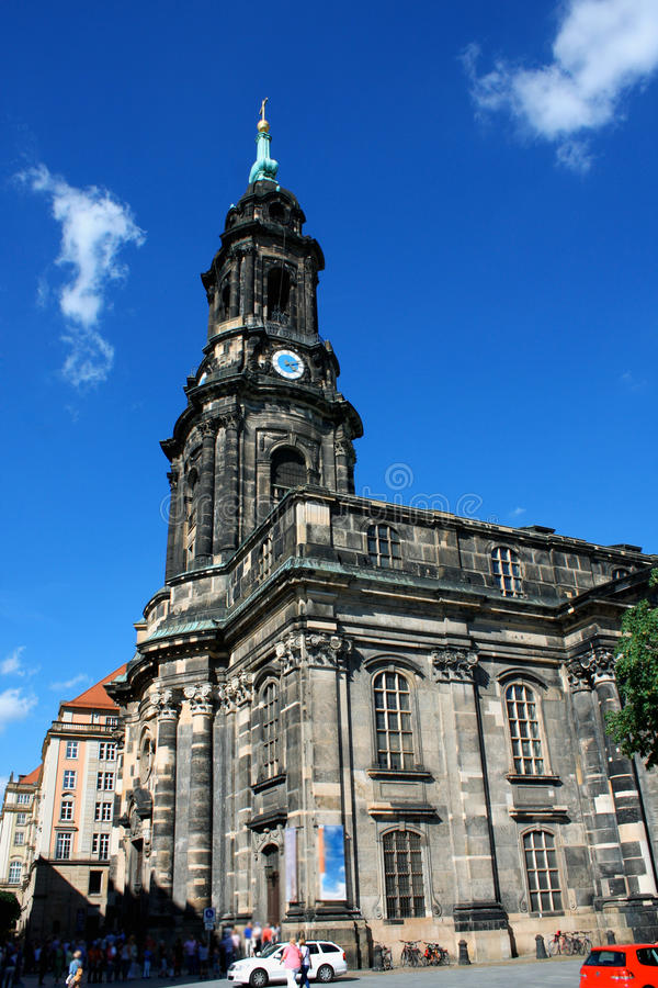 Download Kreuzkirche Meaning Church Of The Holy Cross In Dresden Germany Editorial Photography - Image: 83712042