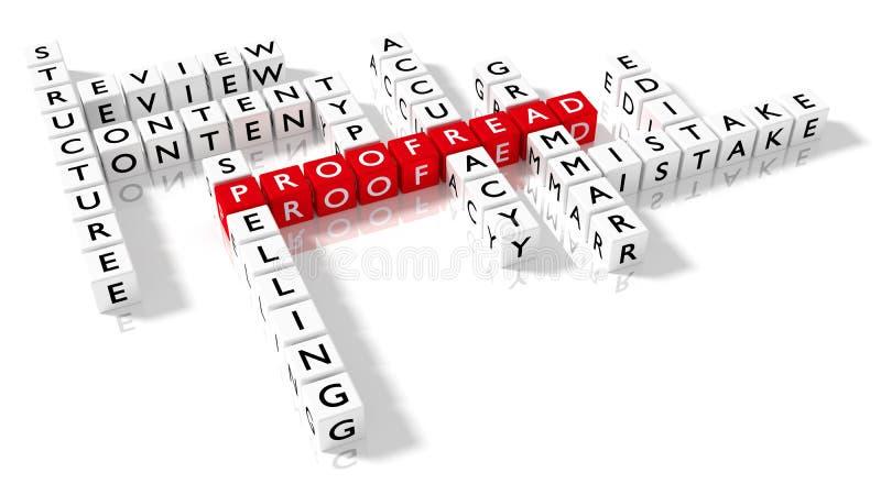 Korrigieren Kreuzworträtsel