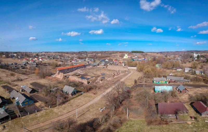 Krevo slott i Vitryssland fotografering för bildbyråer