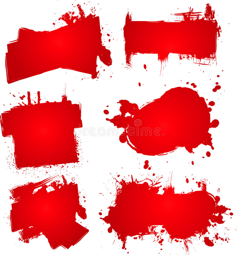 krew atrament bum ilustracji