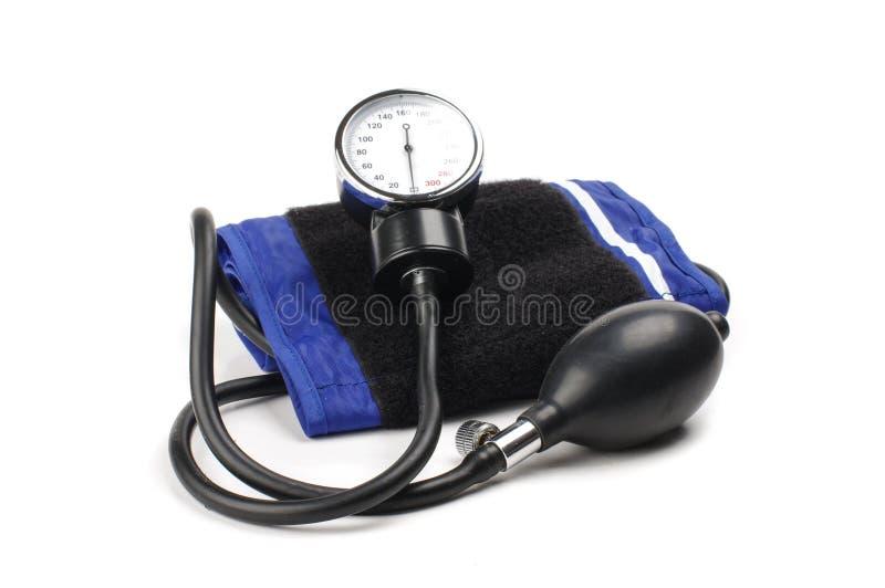 krew ilustruje pomiaru medycznego ciśnieniowego sphygmomanometer stosownego tematy zdjęcie stock