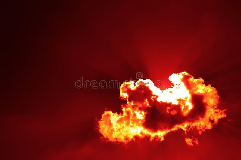 krew ogień obraz royalty free