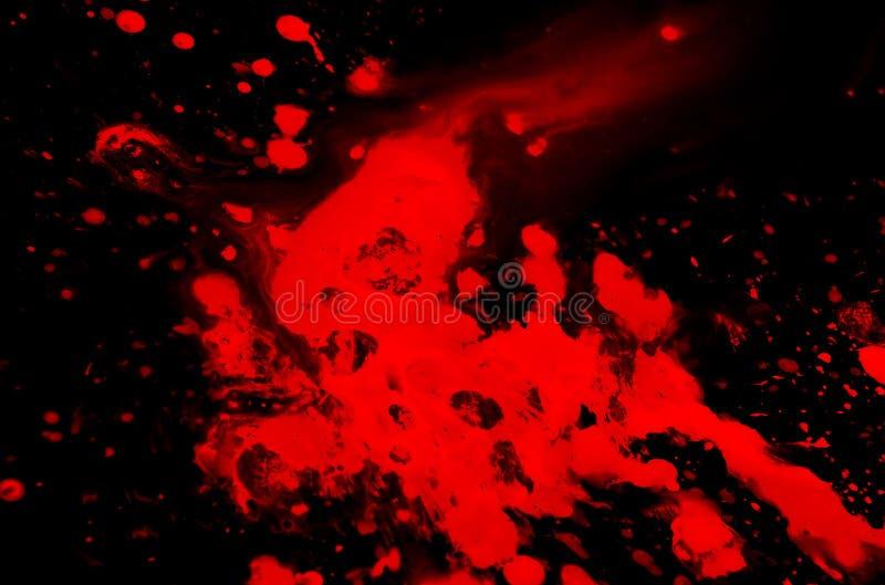 krew splatters royalty ilustracja