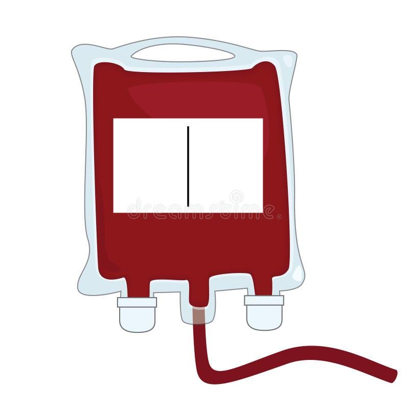Krew torby ilustracja wektor