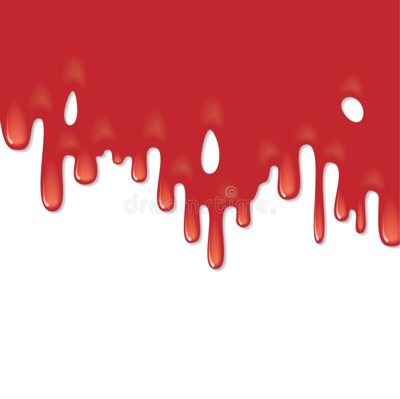 krew wektor royalty ilustracja