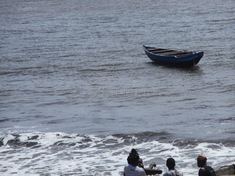Kribi plaża zdjęcie stock