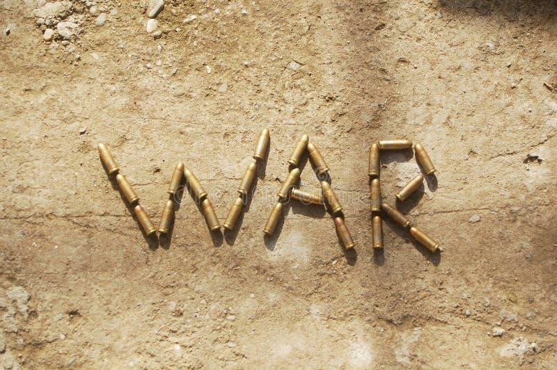 Krieg stockfotografie
