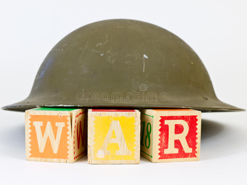 Krieg-Konzept stockfotografie