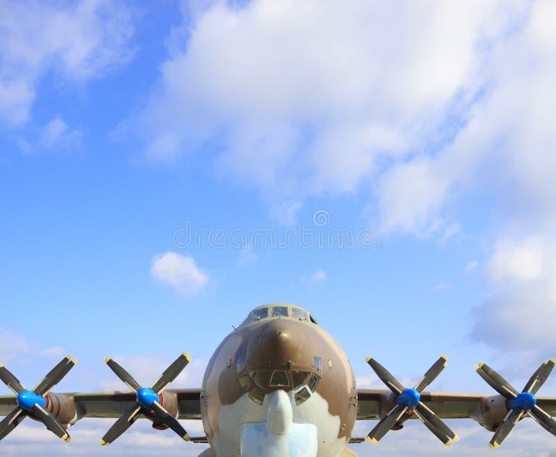 Kriegsflugzeug lizenzfreies stockbild