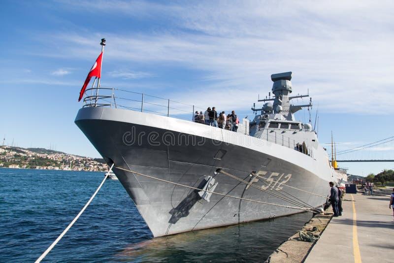 Kriegsschiff stockfoto