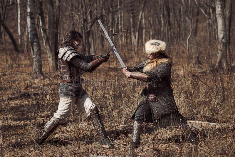 krigare royaltyfri fotografi
