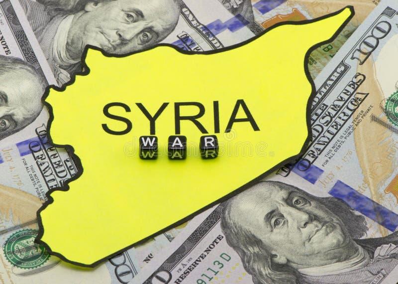 Kriget i Syrien arkivbild