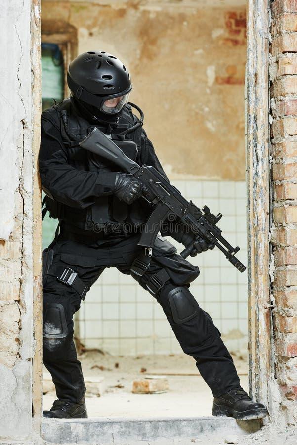 Krigsmakter för speciala operationer royaltyfri foto