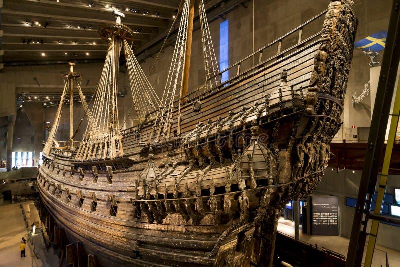 KrigsskeppVasa, Stockholm fotografering för bildbyråer