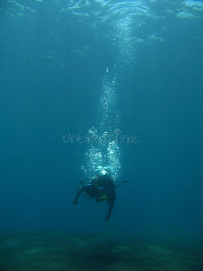 Krijg duikvlucht royalty-vrije stock foto