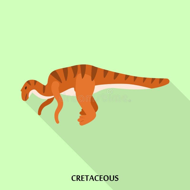 Krijtachtig pictogram, vlakke stijl vector illustratie