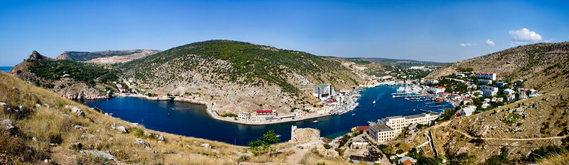 Krim, Balaklava Schacht lizenzfreie stockfotografie