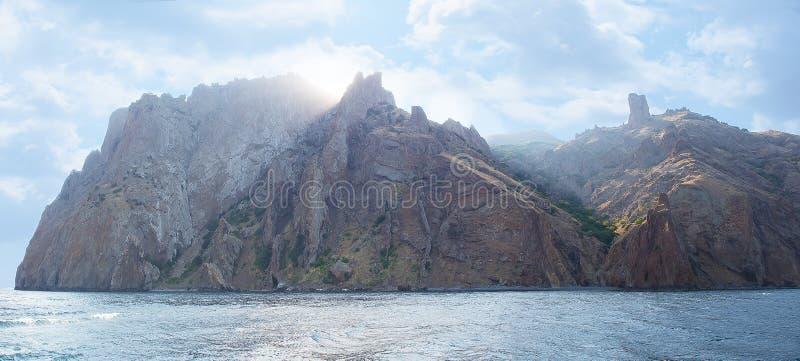 Krim-Berge Karadag stockfoto