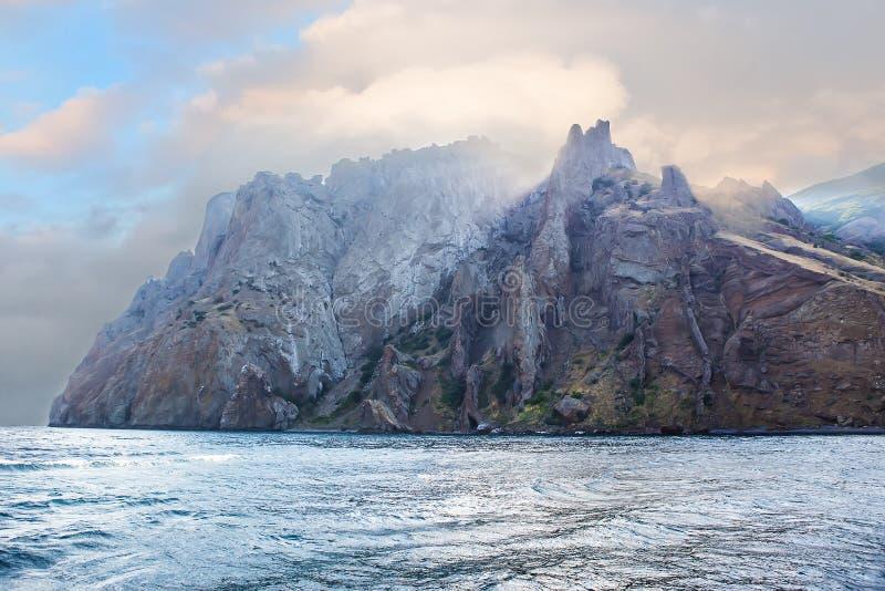 Krim-Berge Karadag stockfotos