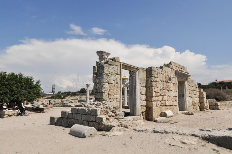 Krim, Hersonissos, Sewastopol lizenzfreie stockfotografie