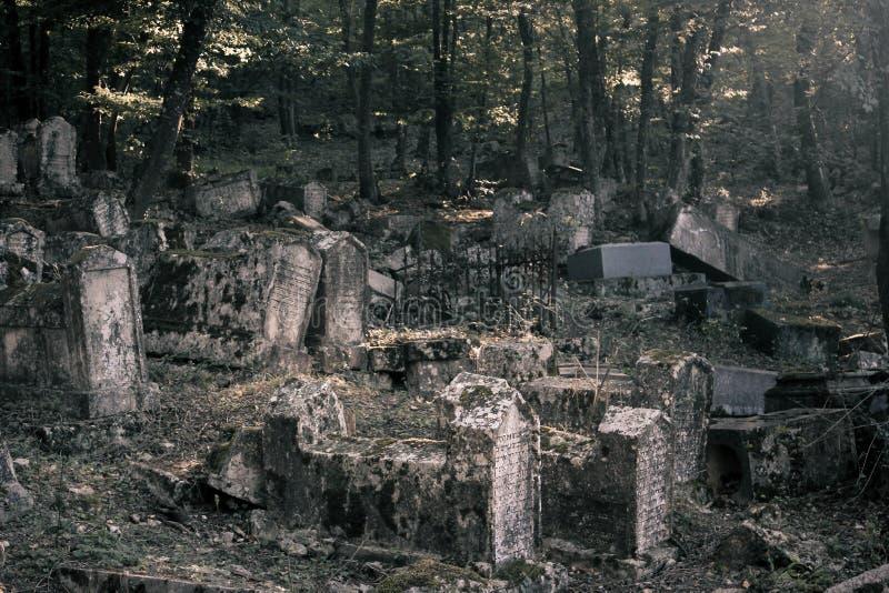 Krim - Kirchhof von Karaites 2 lizenzfreie stockfotos