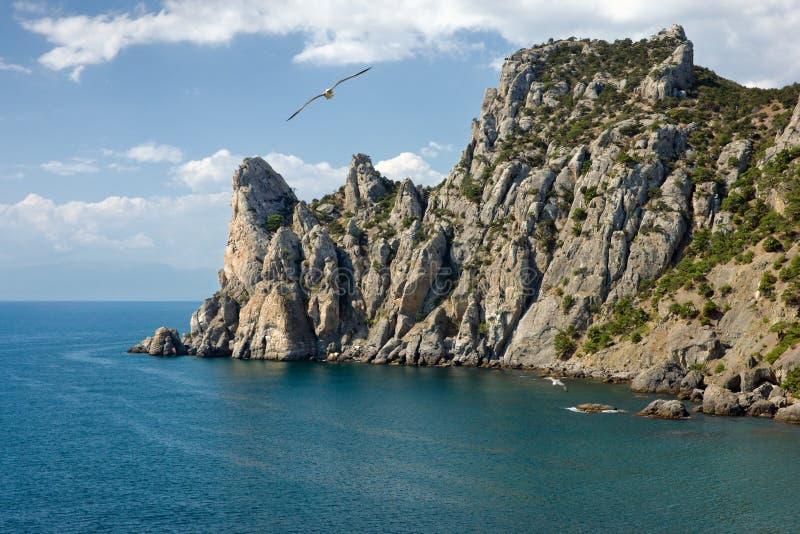 Krim kust royaltyfria bilder
