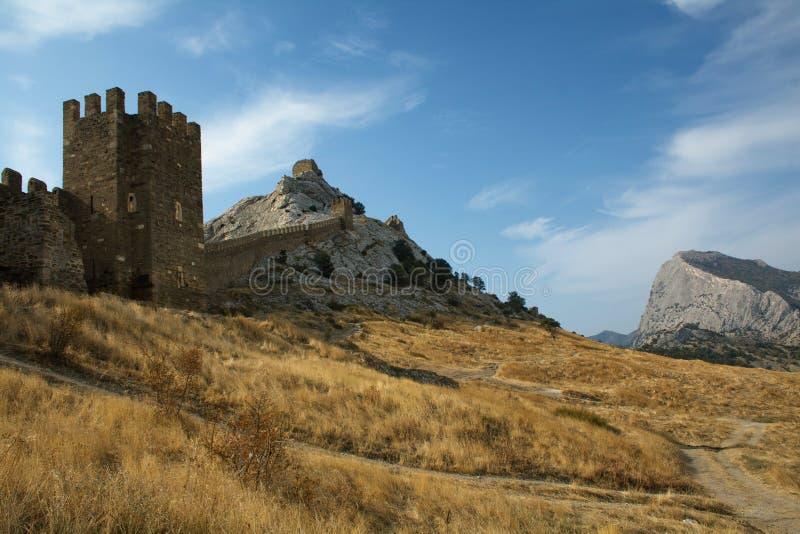 Krim landschap stock foto