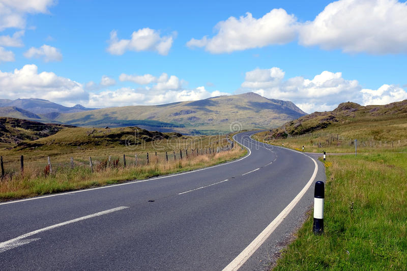 Krim passerande, Snowdonia, norr Wales royaltyfria foton