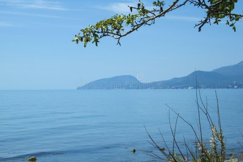 Krim, Schwarzes Meer stockbild