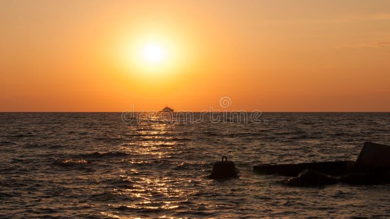 Krim Ukraina, Black Sea arkivbild