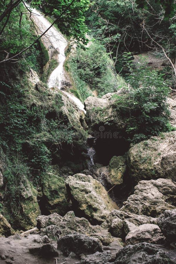 Krim - Wasserfall lizenzfreie stockfotografie