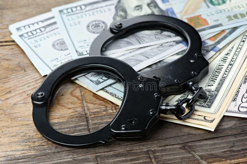 Kriminelles Geschäftskonzept stockfotografie