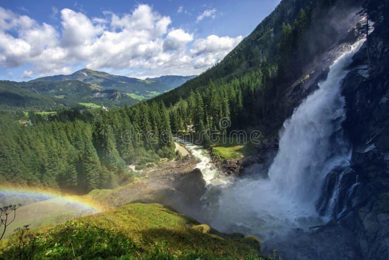 Download The Krimml Waterfalls stock photo. Image of krimml, austria - 98797418