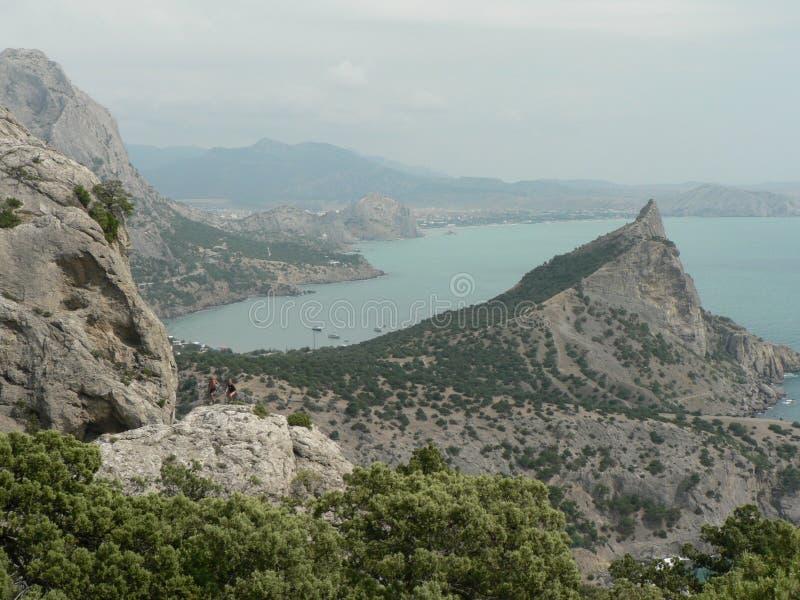 Krimschiereiland royalty-vrije stock foto