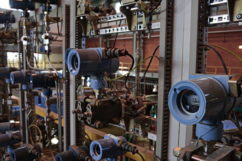 kriogeniczni detektory kriogeniczny pl rzędu warsztat fotografia stock
