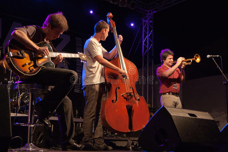 kriol τζαζ φεστιβάλ Απριλίου 1 στοκ φωτογραφία
