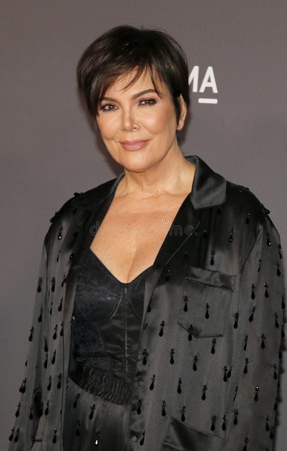 Kris Jenner imagen de archivo libre de regalías