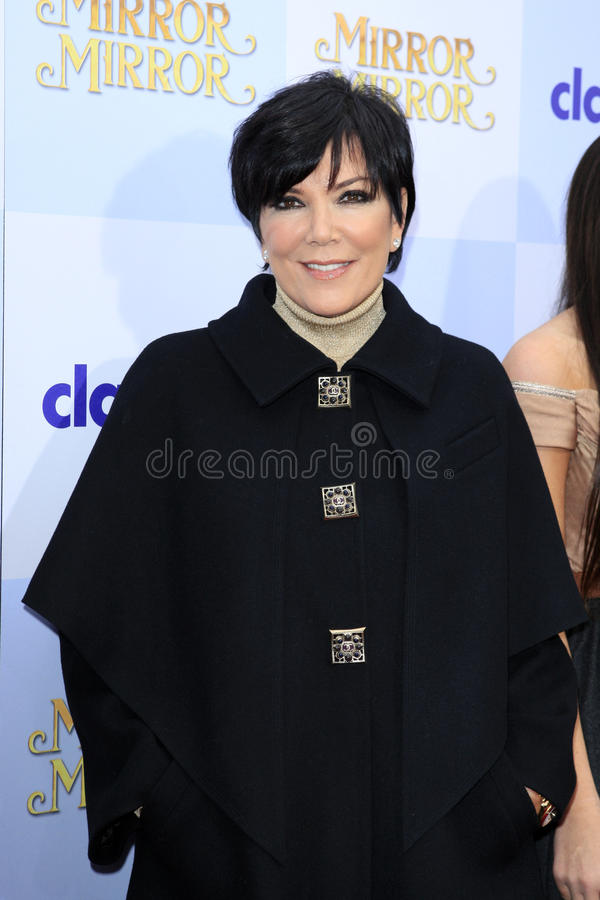 Kris Jenner photos stock