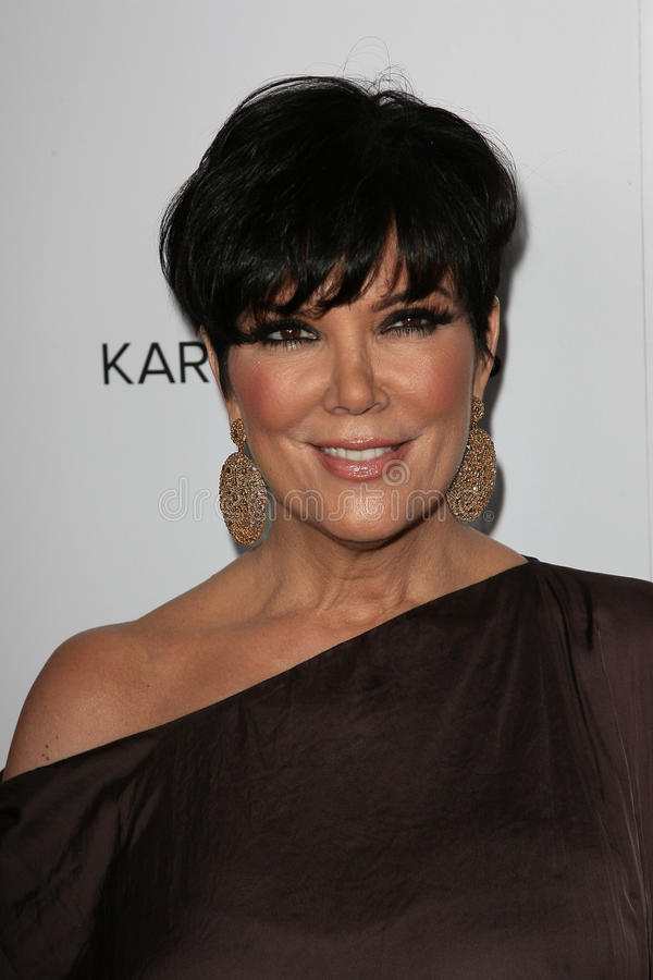 Kris Jenner photo stock