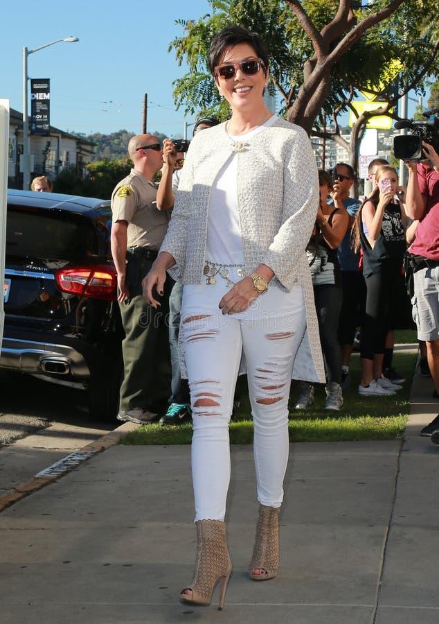 Kris Jenner 免版税库存照片