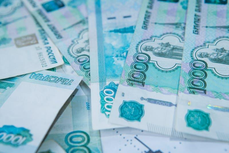 Krise in Russland Russische Rubel Kurs lizenzfreie stockfotografie