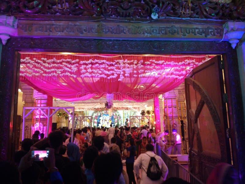 Krishna寺庙 免版税图库摄影