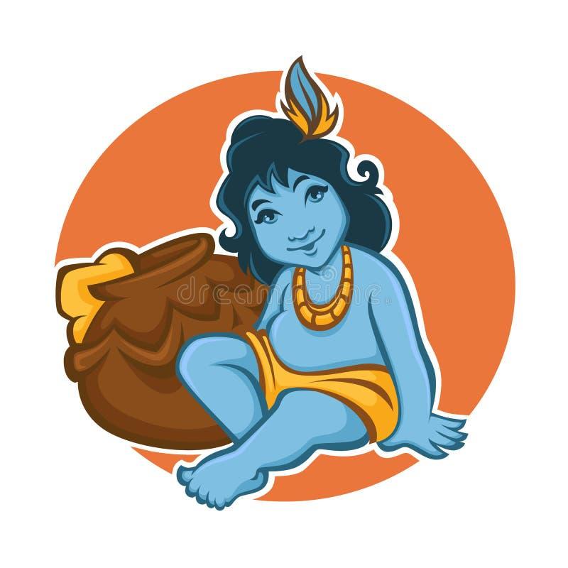 krishna royalty illustrazione gratis