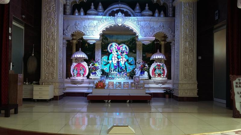 Krishna Balram stockbilder