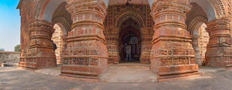 Krishna Chandra świątynia, Kalna zdjęcia stock