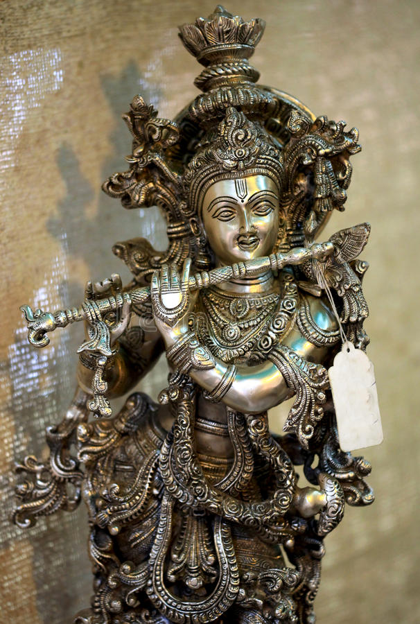 Krishna de seigneur image stock