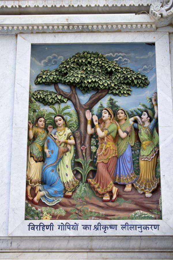 Krishna-lila photo libre de droits